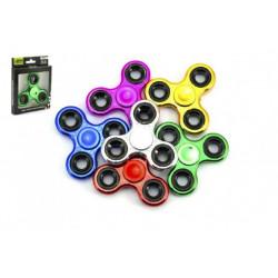 Fidget spinner chrom - 6 druhů