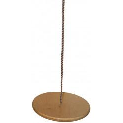 Houpací disk dětský - závěsný, dřevěný