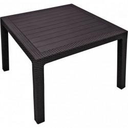 Záhradný stôl MELODY QUARTET hnedý