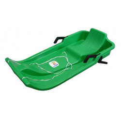 UFO plastový bob - zelený