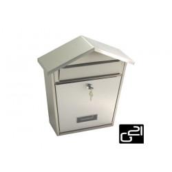 Poštovná schránka G21 LORI 320x320x105 nerezová