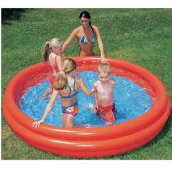 Bazén trojkomorový 122 x 25 cm