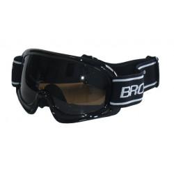 Lyžiarske okuliare DETSKÉ - čierne