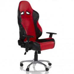 Kancelárska otočná stolička RS Series čierna/červená