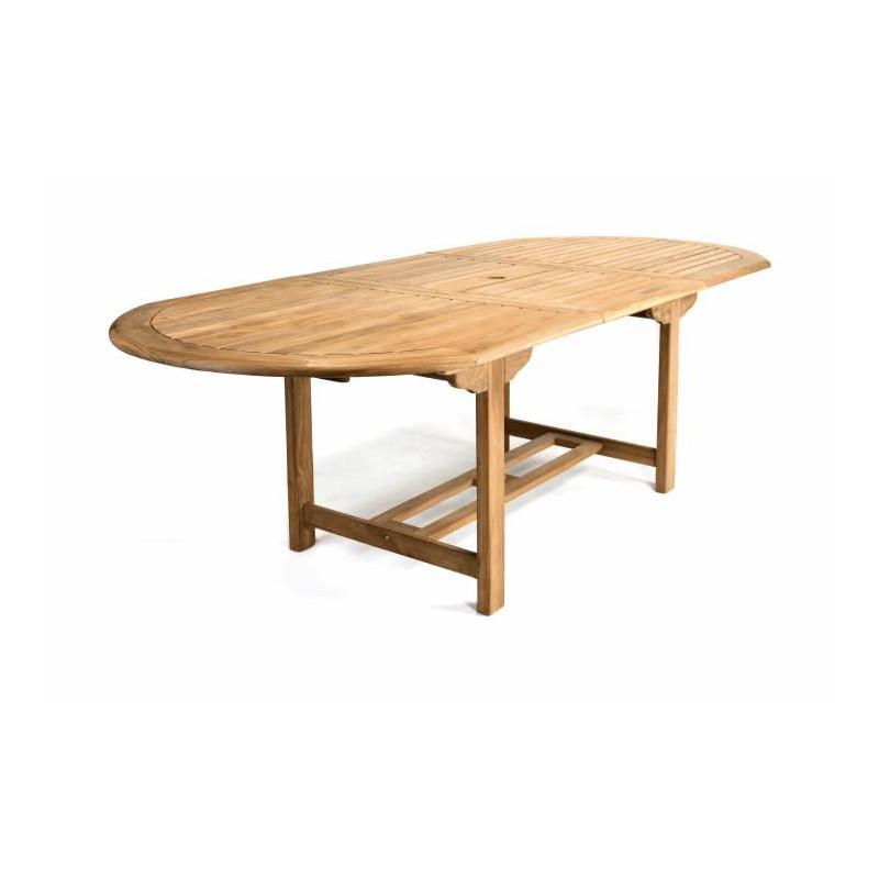 1b146c957d6ea ... Rozšíriteľný záhradný stôl z teakového dreva Garth, 170 - 230 cm ...