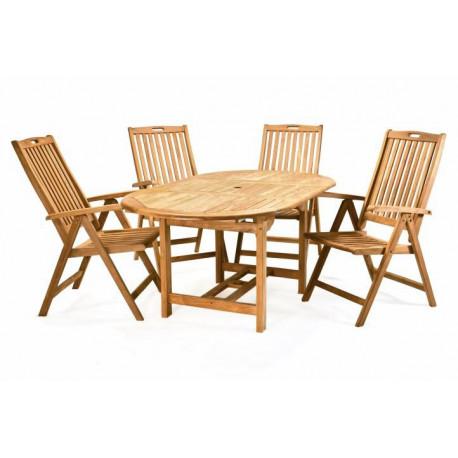 460c1f0f93d23 DIVERO záhradný nábytok z tíkoveho dreva-D02342