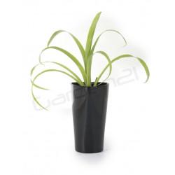 Samozavlažovací kvetináč G21 Trio mini čierny 15cm