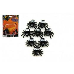 Pavouk mini 8ks plast na kartě