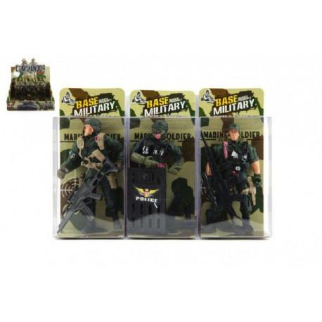 006deada6 Voják figurka plast 10cm - 3 druhy-TD50015