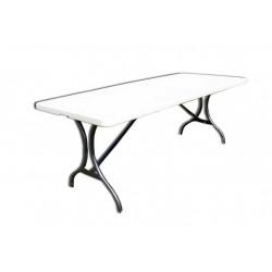 Záhradný skladací stôl, 183 cm