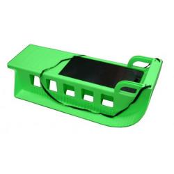 Kamzík - plastové sane 05-A2043 - zelené