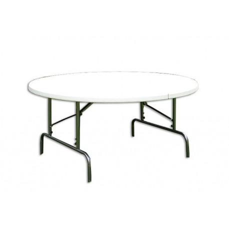 0158c0112b7ba Skladací záhradný stôl - guľatý - www.ESOshop.sk