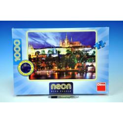 Puzzle Letní noc v Praze svítící ve tmě 66x47cm 1000 dílků v krabici