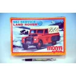 Stavebnice Monti 40 Ski Service - Land Rover v krabici 22x15x6cm