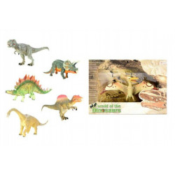 Dinosaurus plast 20cm - 6 druhů