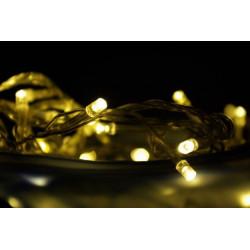 Vianočné LED osvetlenie - 30 LED, teplá biela