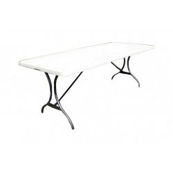 Záhradný skladací stôl, 244 cm