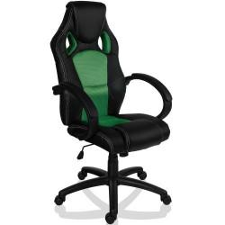 Otočná kancelárska stolička zelená GS Series
