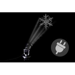 Vonkajší LED projektor – snehová vločka - dosah 3 - 15 m