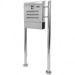 Poštová schránka nerezová 120 cm