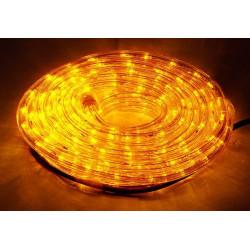 LED osvetlenie - žlté , 10m